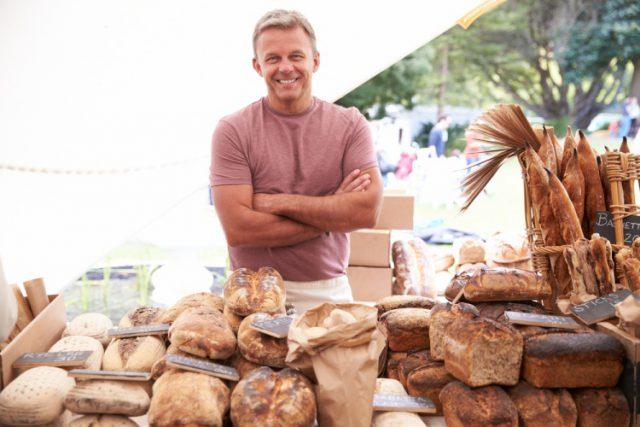 アメリカのパン屋さん