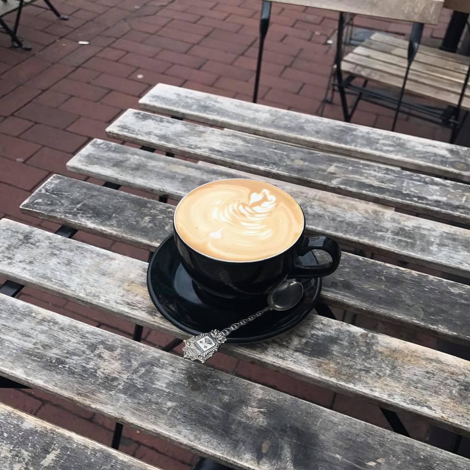 イギリス ブライトンのカフェ