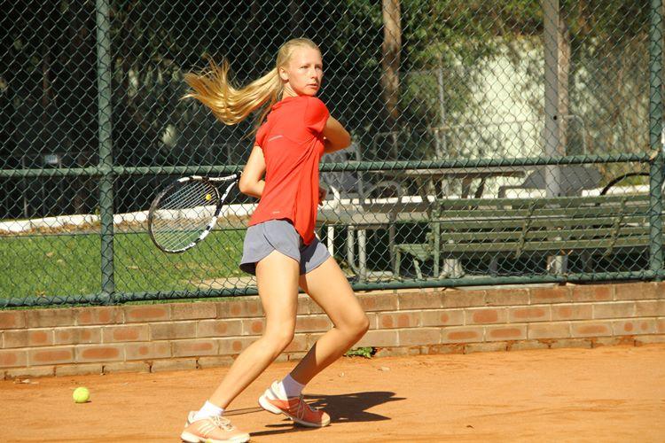 テニス留学のレッスン