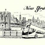 ニューヨーク、夜行バスで移動するなら?