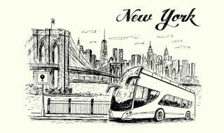 ニューヨークバス