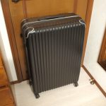 ワーホリ中のスーツケース