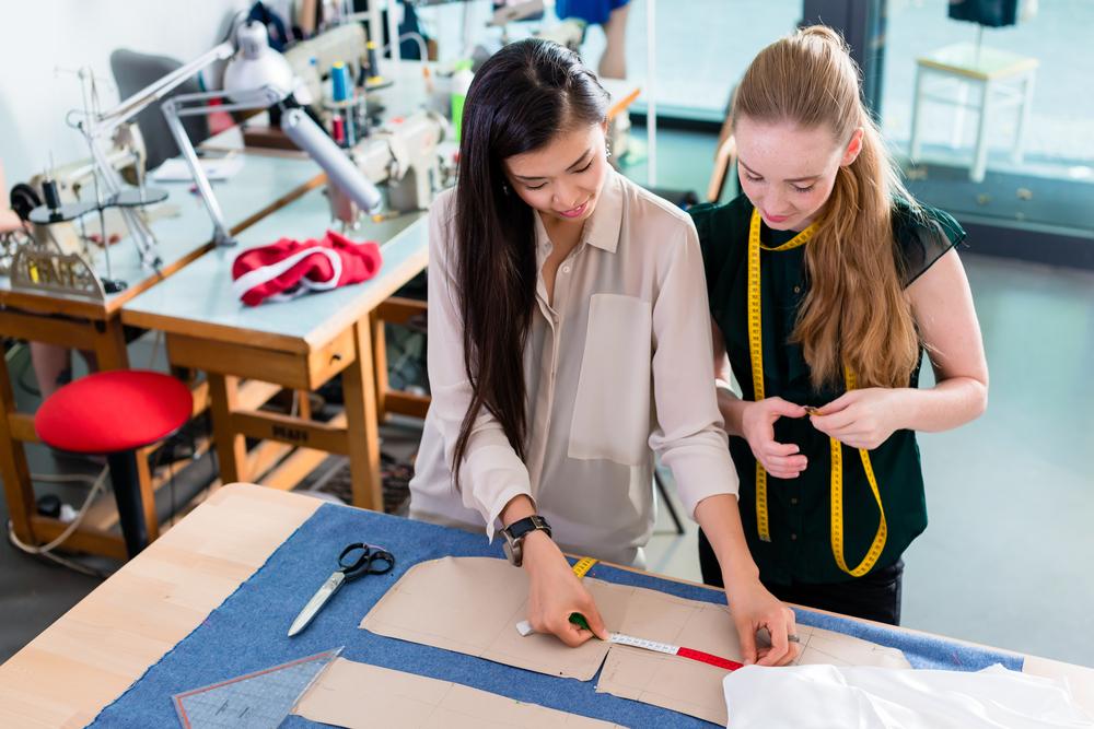 イギリスでファッションを学ぶ