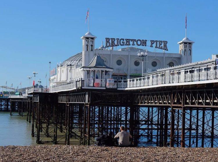 イギリス ブライトンのBrighton Pier