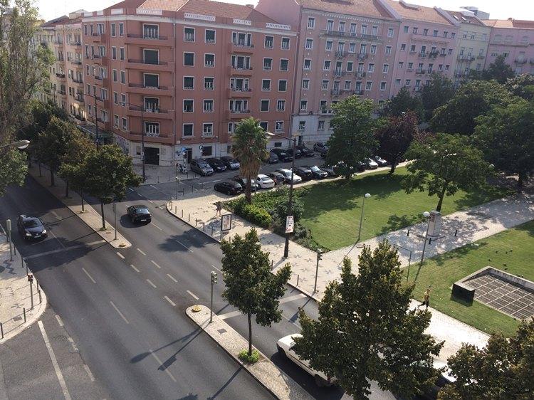 ポルトガル リスボンの街並み