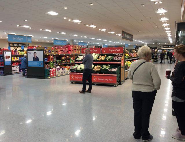 イギリスのスーパーマーケット アルディ