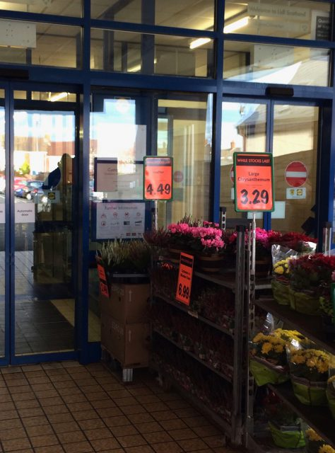 イギリスのスーパーマーケット リドル