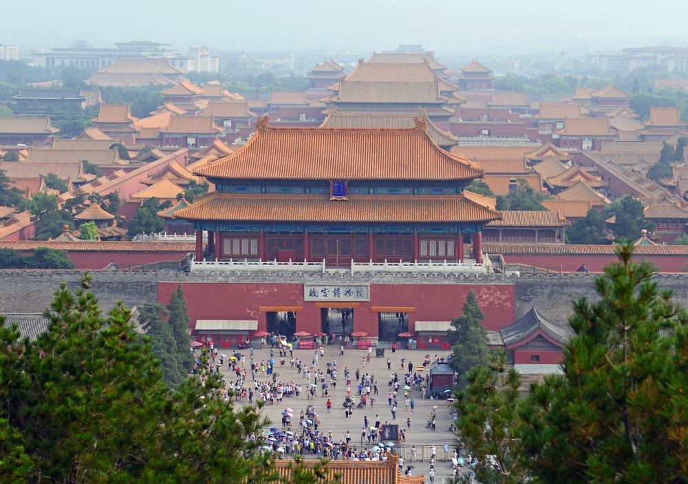 中国 北京の故宮博物院