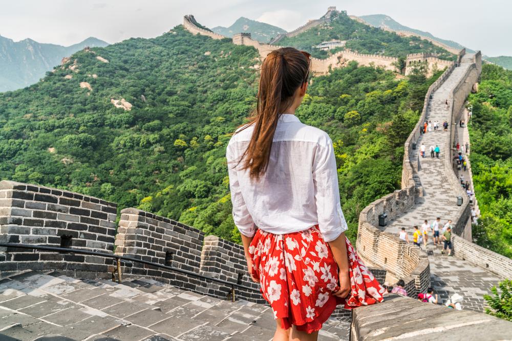 中国 北京の万里の長城