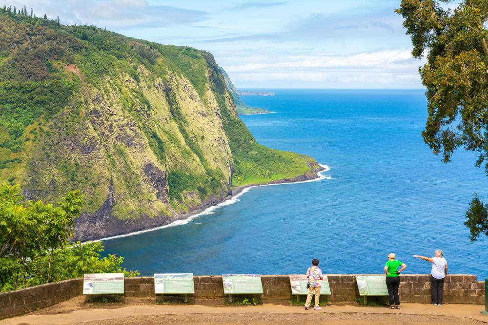 ハワイ ワイピオ渓谷