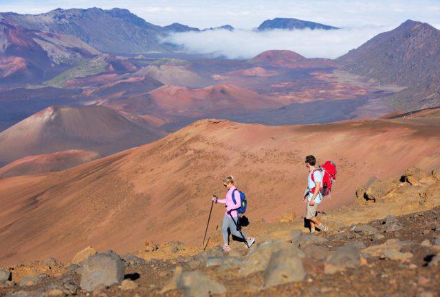 アメリカ ハワイ ハレアカラ火山