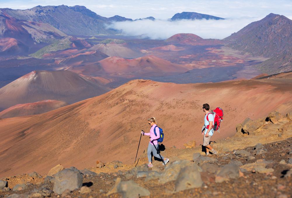 アメリカ ハワイ留学 ハレアカラ火山