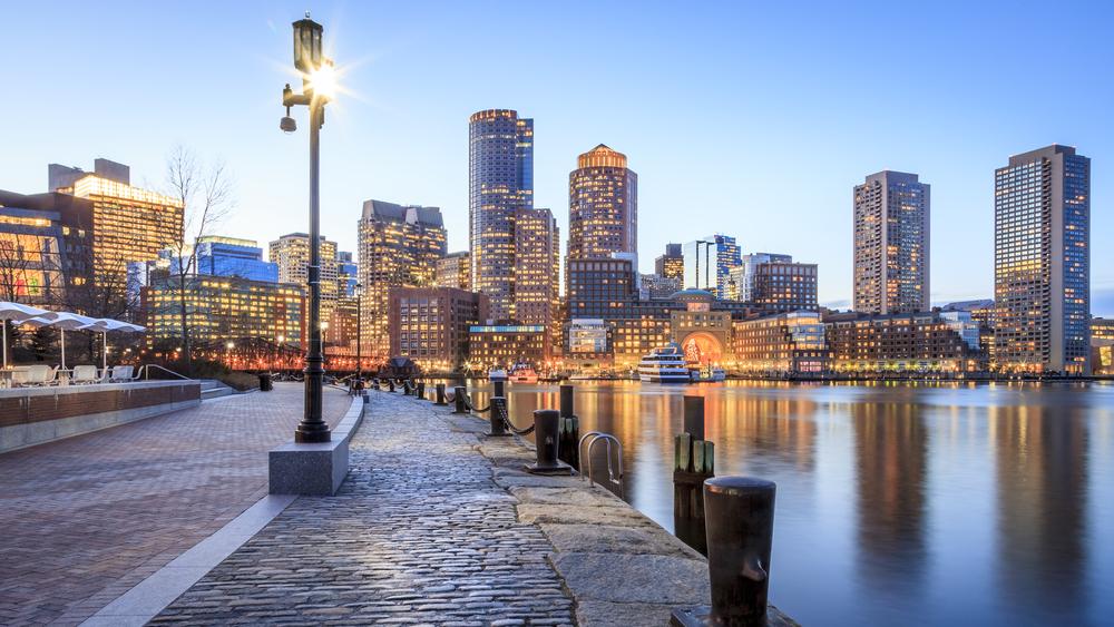 アメリカ ボストンの街