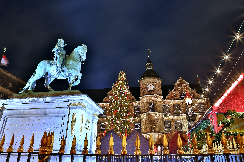 ドイツ デュッセルドルフのクリスマス