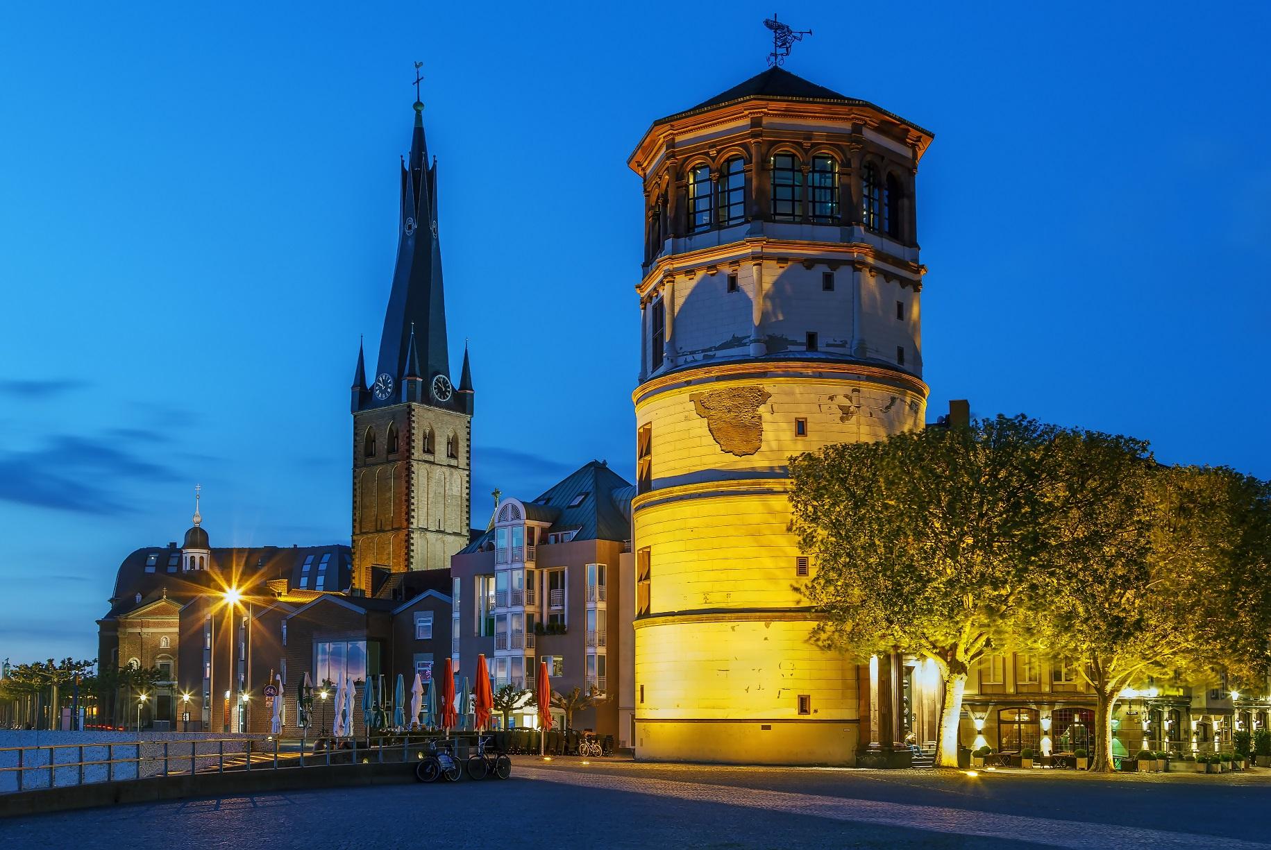 ドイツ デュッセルドルフの聖ランベルトゥス教会