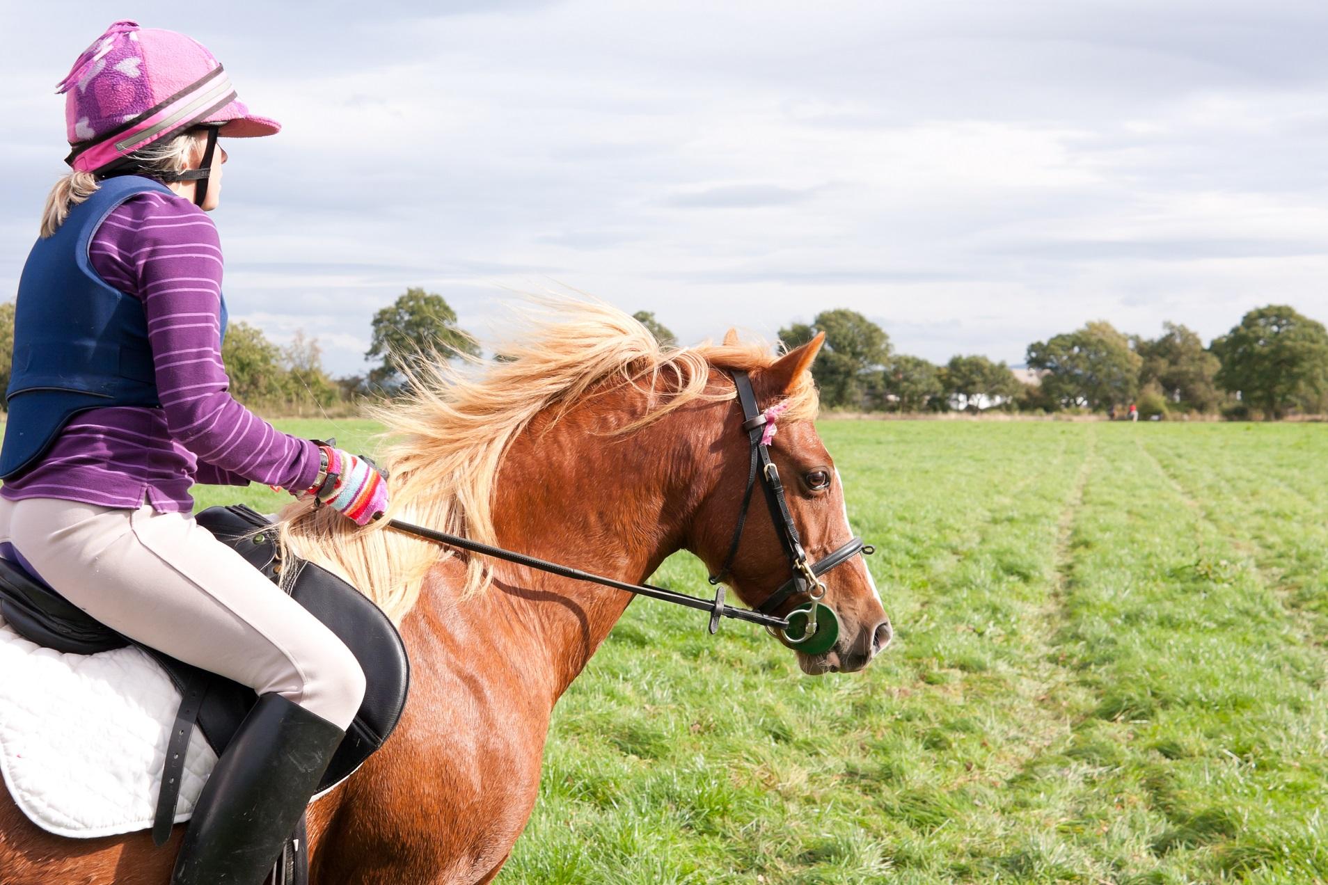 イギリスのサマースクールで乗馬体験
