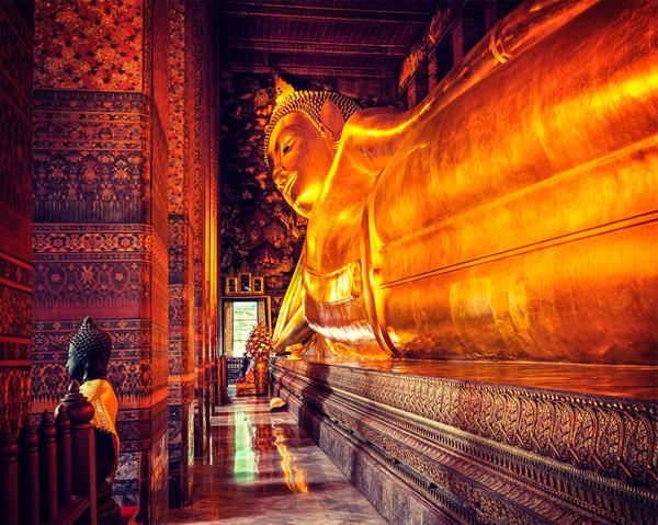 バンコクの観光スポット ワットポー