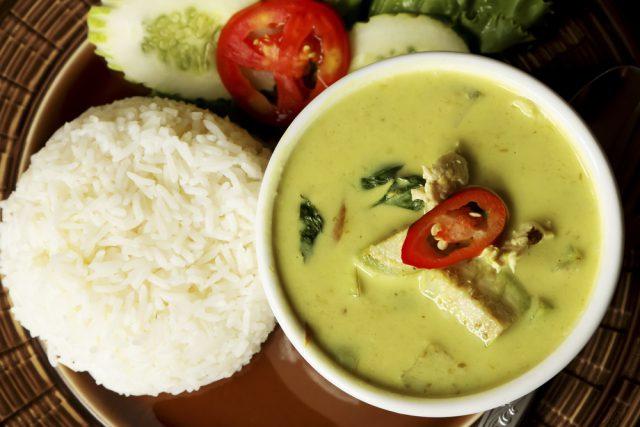 タイ留学で食べたいタイカレー