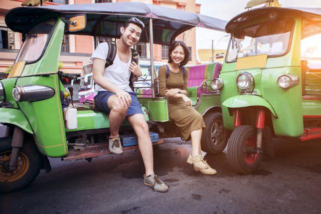 タイ語学留学でトゥクトゥク体験