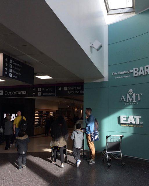 イギリス エディンバラの空港