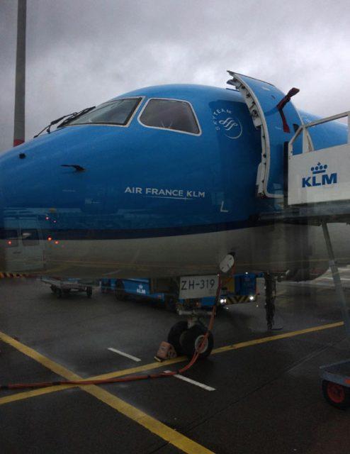 KLMオランダ航空の飛行機