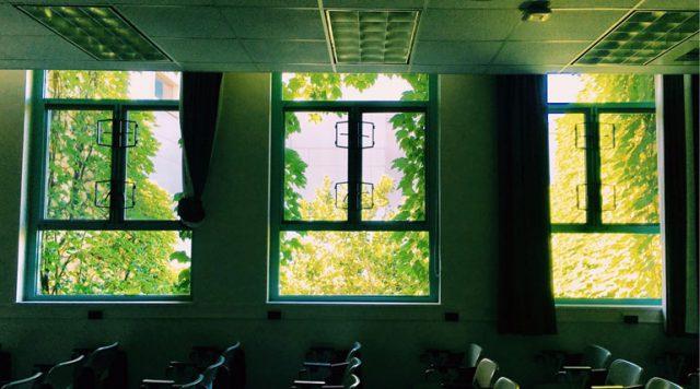 アメリカ 大学の教室