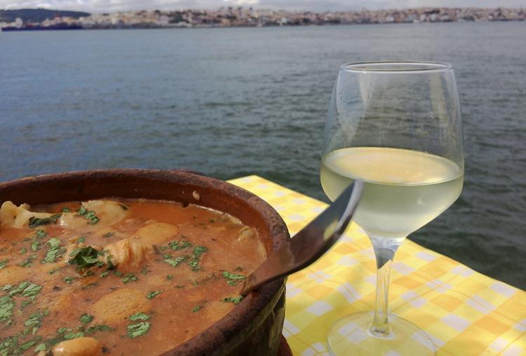 ポルトガルでの食事 リゾット