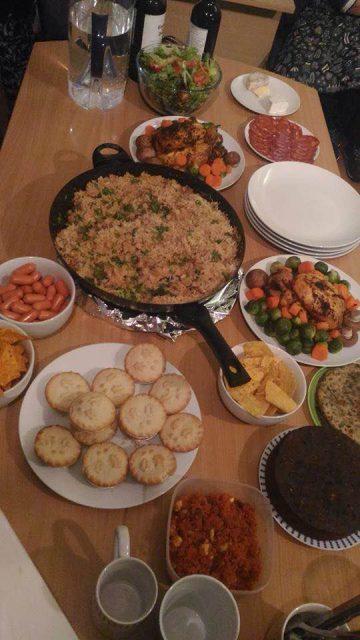 イギリス留学中の食事