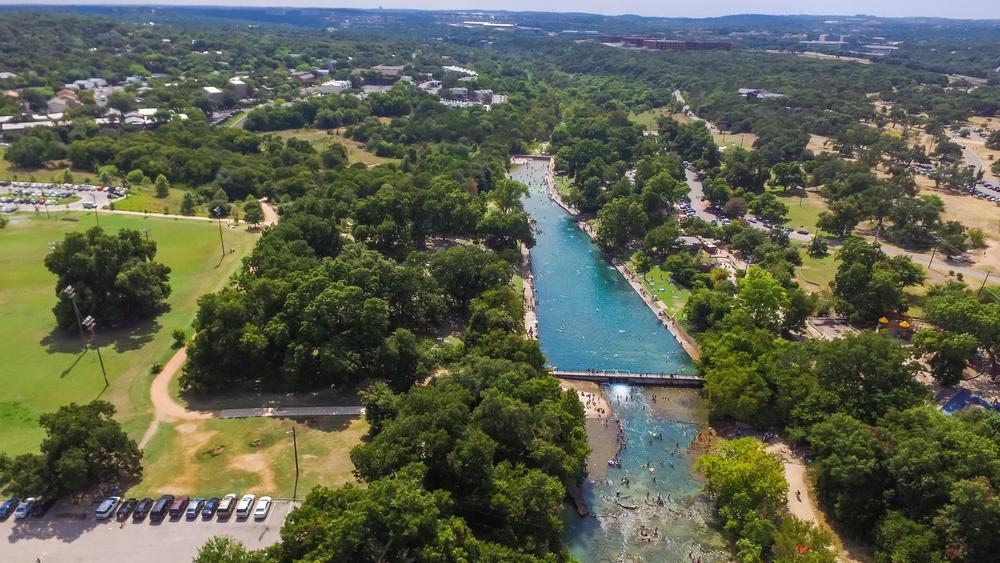 アメリカ テキサス州オースチン バートン・スプリングス