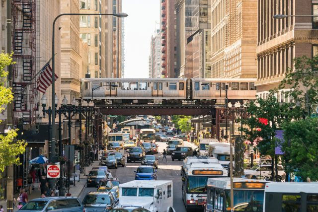 アメリカ シカゴの街