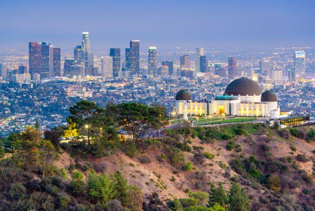 アメリカ ロサンゼルス(LA) グリフィス天文台