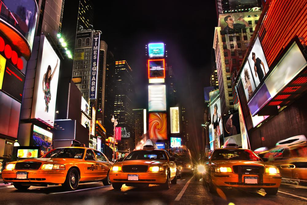 アメリカ ニューヨーク タイムズスクエア