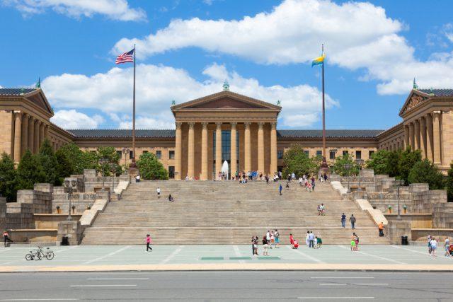 アメリカ フィラデルフィア美術館