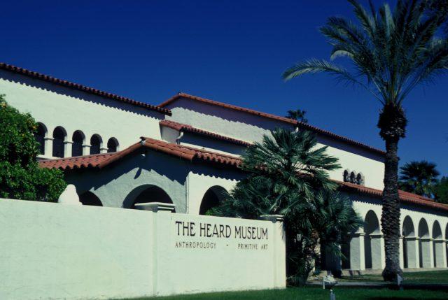 アメリカ フェニックスにあるハード美術館