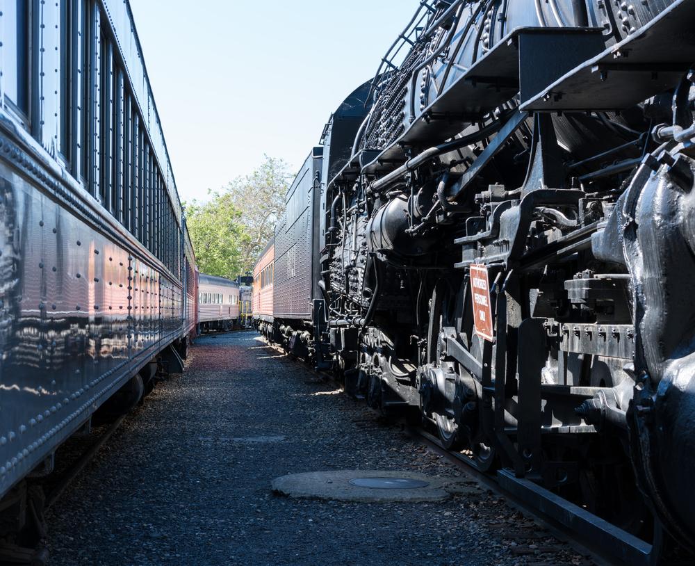 アメリカ サクラメントにあるカリフォルニア州鉄道博物館