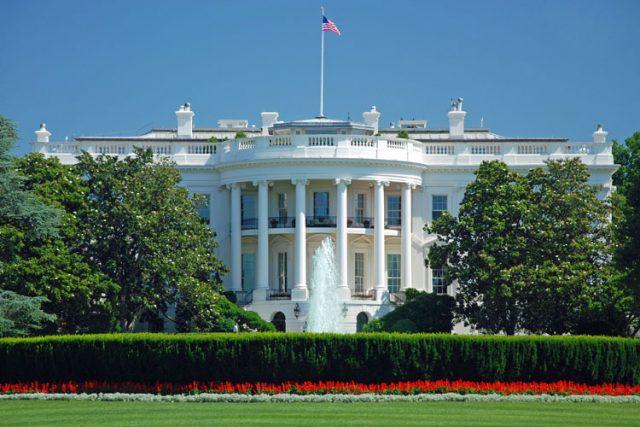 アメリカ ワシントンDC ホワイトハウス