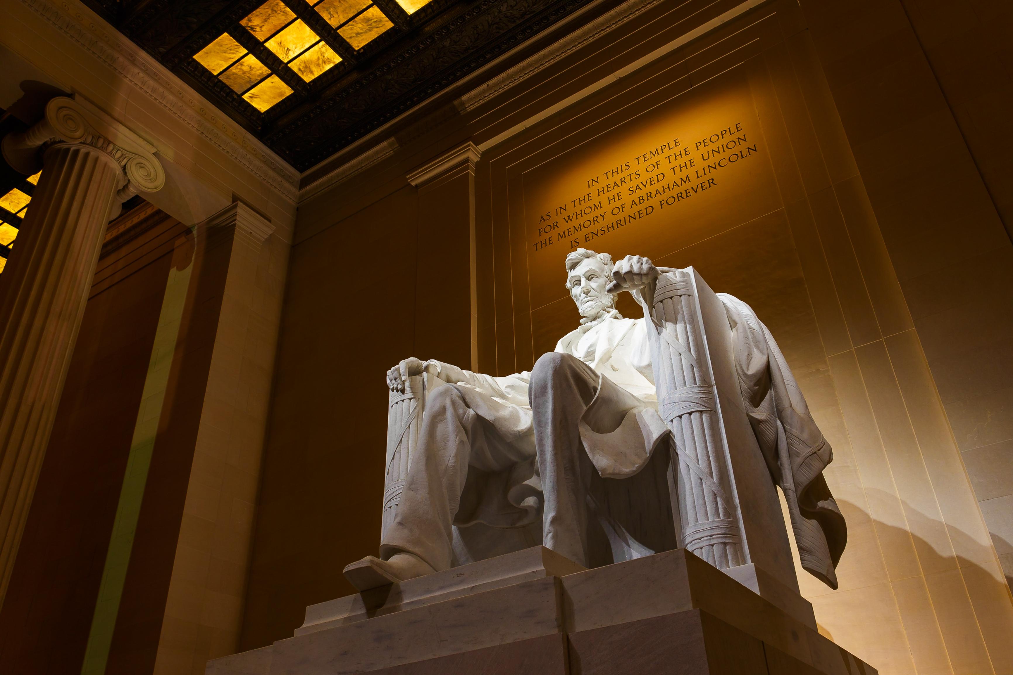 アメリカ ワシントンDC リンカーン・メモリアル