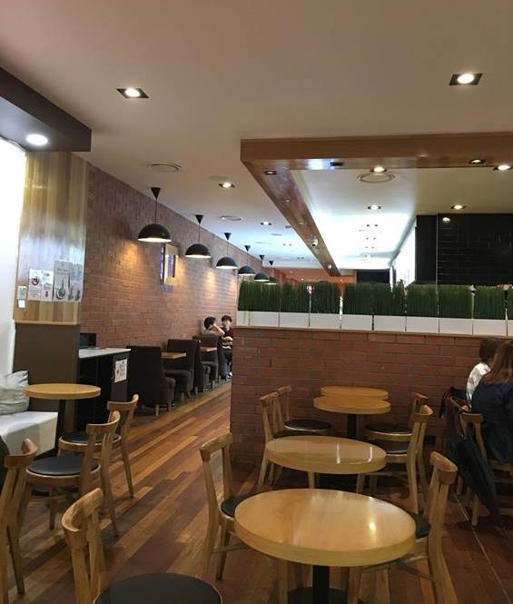 オーストラリア ブリスベンのカフェ