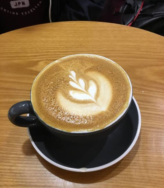 オーストラリア ブリスベンのカフェメニュー