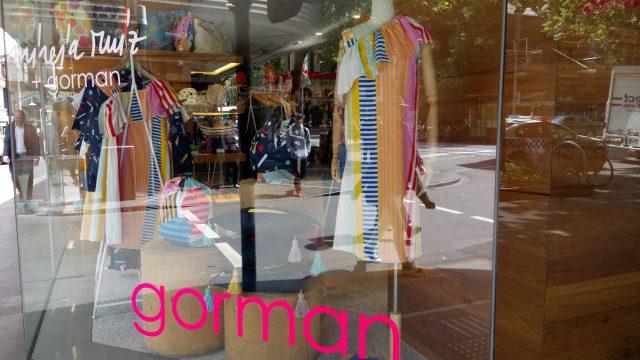 メルボルンのブランド服 gorman