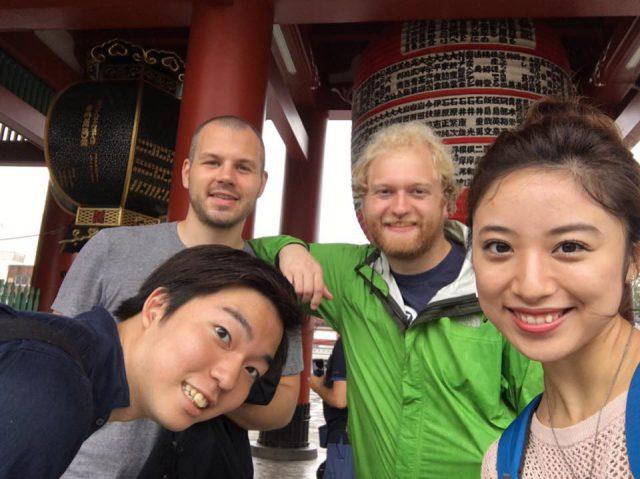 通訳観光ガイドの体験