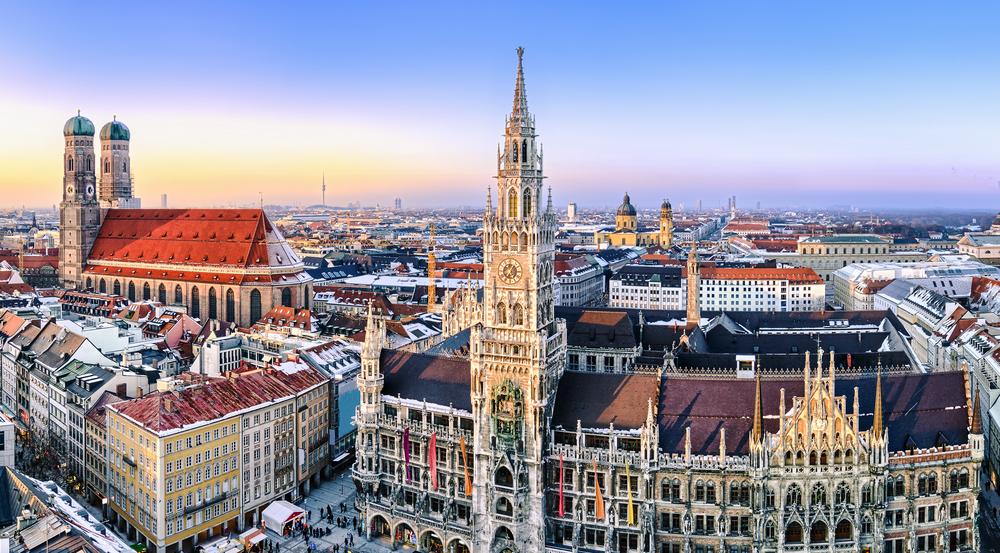 ドイツ ミュンヘンの景色