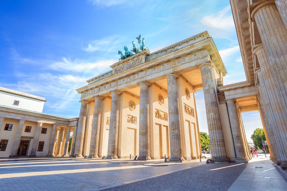 ドイツ ベルリンのブランデンブルク門