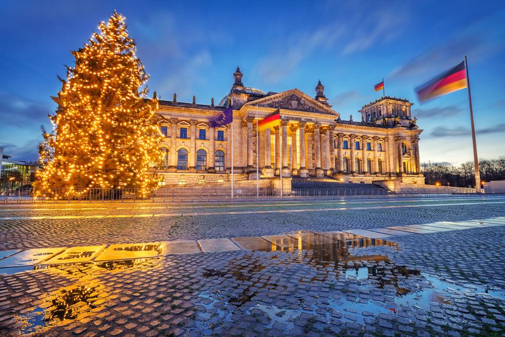 ドイツ ベルリンの国会議事堂