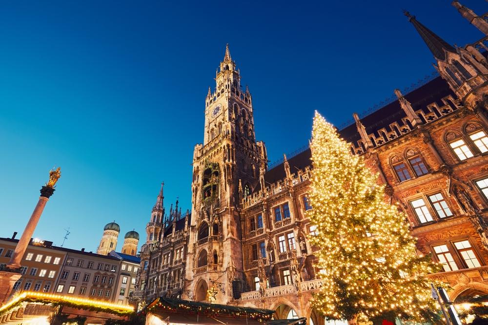 ドイツ ミュンヘンのクリスマス