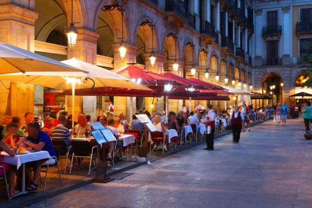 スペイン バルセロナのレストラン