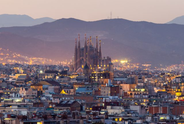 スペイン バルセロナ サグラダファミリア