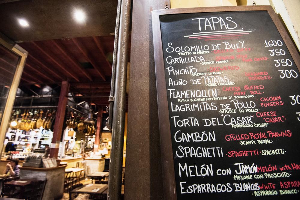 スペイン グラナダのレストラン