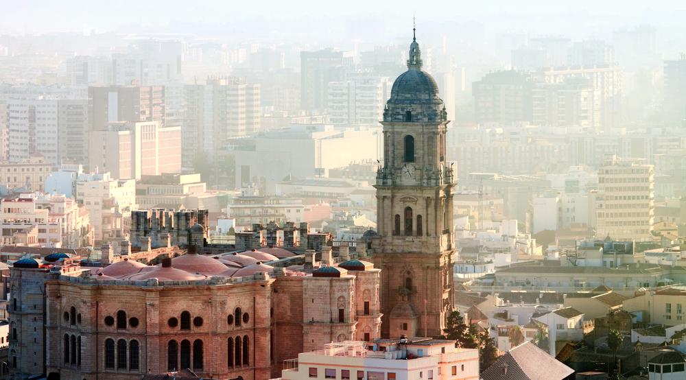 スペイン マラガの大聖堂