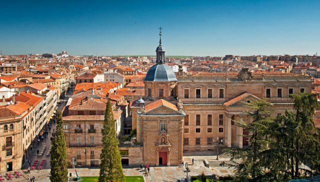スペイン サラマンカの旧市街